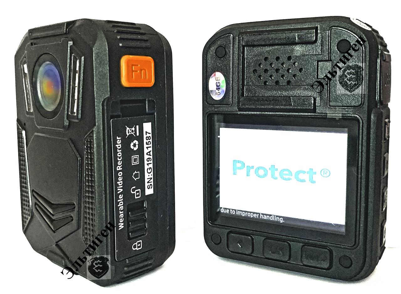 Нагрудная камера Protect R - Онлайн Wi-Fi, (STA,AP) GPS, 64Gb.2021 г.