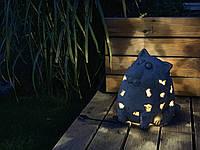 Світлодіодний світильник садовий декоративний КІТ великий лед