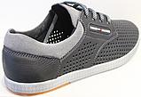 Туфли мужские на шнурках летние кожаные от производителя модель ИШ104-1, фото 4