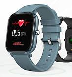 UWatch Умные часы Smart P8 Sport Blue, фото 4