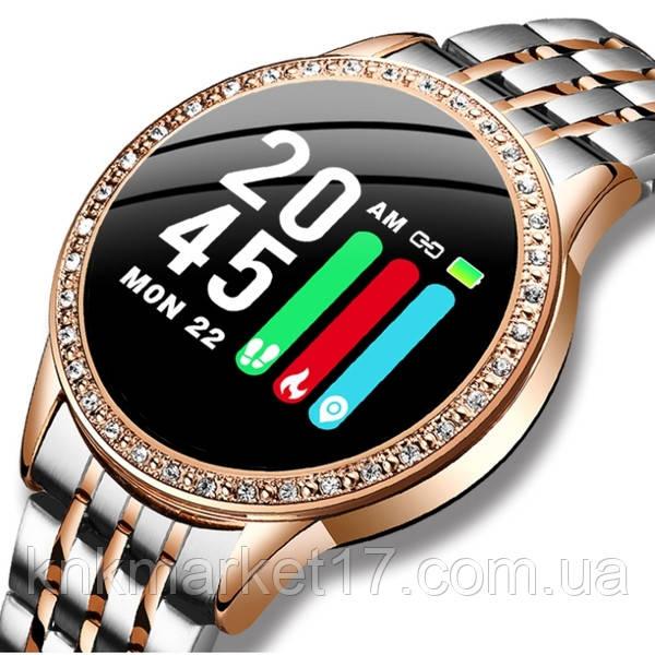 Lige Женские часы Smart Lige Holiday Golden