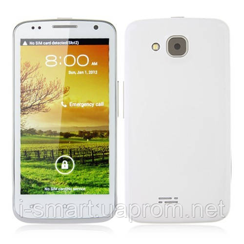 Smart Phone 4 5 Inch 8 0MP Camera Android 4 0 MTK6577 Dual Core 3G GPS-  White