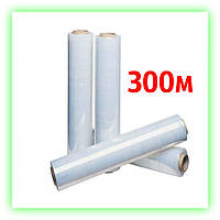 Стрейч пленка 15мкм х 300м упаковочная паллетная, пленка для упаковки