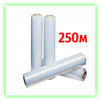 Стрейч пленка 17мкм х 250м упаковочная паллетная, пленка для упаковки