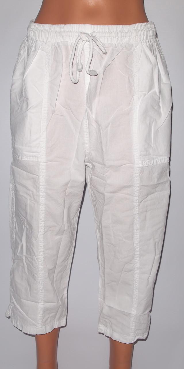 Бриджи женские 17-1 KIRTEKS sports ЖАТКА норма,два кармана,шнурок,котон100%  ТУРЦИЯ