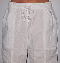 Бриджи женские 17-1 KIRTEKS sports ЖАТКА норма,два кармана,шнурок,котон100%  ТУРЦИЯ, фото 2