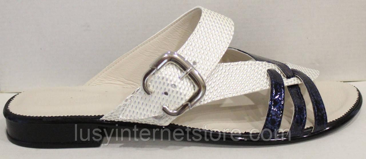 Сабо женские экокожа на низком каблуке от производителя модель МИ5112-7
