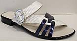 Сабо женские экокожа на низком каблуке от производителя модель МИ5112-7, фото 2