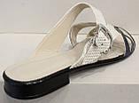 Сабо женские экокожа на низком каблуке от производителя модель МИ5112-7, фото 5
