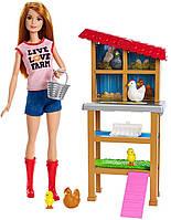 Игровой набор Barbie разноцветный Барби Куриная ферма SKL52-241120