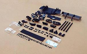 Весь пластик салона, кнопки, лого, ручки, отражатели - все для BMW
