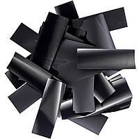 Конфетти-Метафан Черный Премиум 2.5х6 (пленочный) 1кг, фото 1