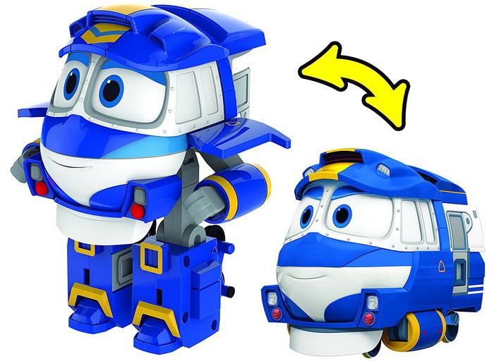 "Трансформер ""Robot Trains (роботи поїзда): Kay   Key (Кей)"""