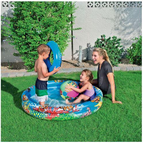 Детский бассейн Подводный мир, Bestway
