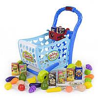 Игровой набор Супермаркет со светом, музыкой и тележкой с продуктами SKL11-182867