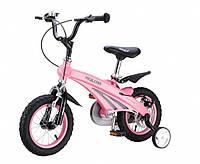 """Детский велосипед 12"""" MIQILONG MQL-SD розовый"""