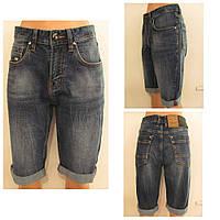 Шорты женские джинсовые бойфренды летние удлиненные, р.29,30,31,32,33,34 к.3493М