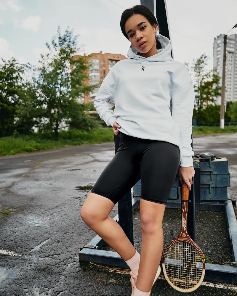 Велосипедки Женские спортивные шорты черные