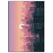 Фон для торта Город-1 вафельная картинка