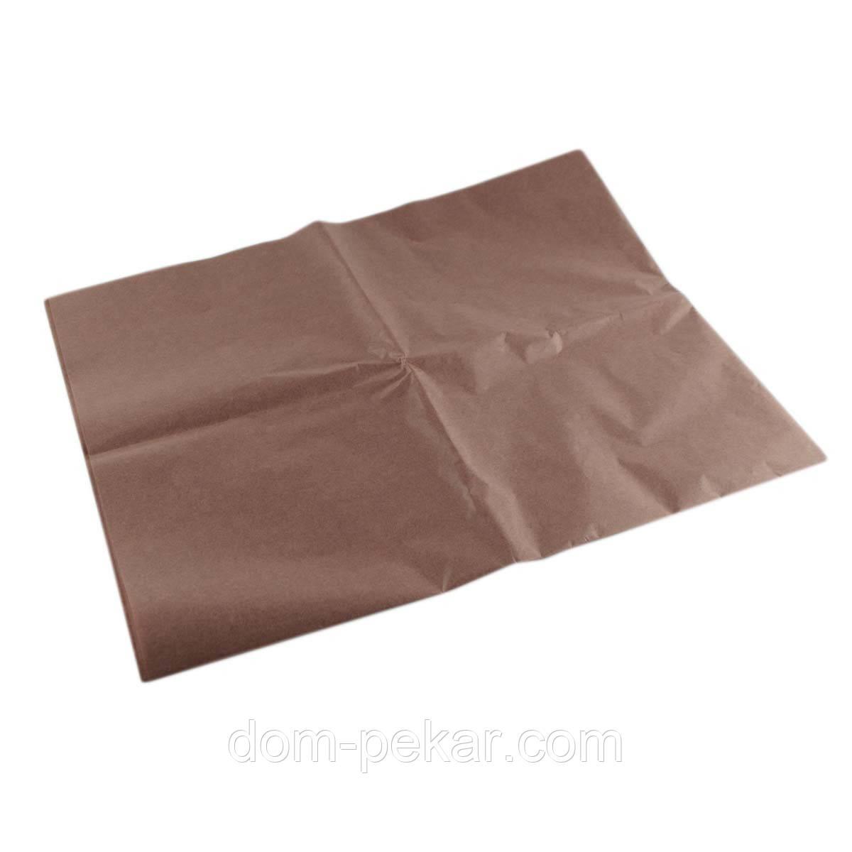 Бумага тишью Шоколадная 75*50см 5 листов (99-42)
