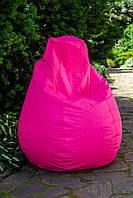 Кресло груша мешок бескаркасное кресло пуф L Оксфорд малиновый