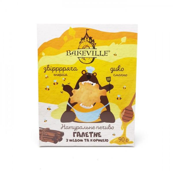 Печенье галетное с медом и корицей Bakeville 90г