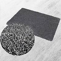 Суперпоглощающий коврик из микрофибры Super Clean Mat для ванной комнаты\прихожей 46х70см Серый (живые фото)