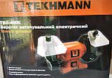Наждак Tekhmann TBG-4006 электрическое, фото 5