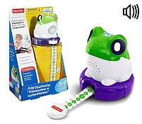 Развивающая игрушка Fisher Price Умный лягушонок Измеряй и сравнивай на русском SKL52-239500