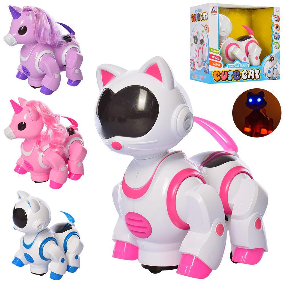 Животное-робот кот,единорог