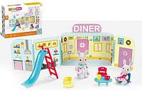 Игровой набор Закусочная CJ 888-003 36 с мебелью и животными, 31 эл SKL11-220011