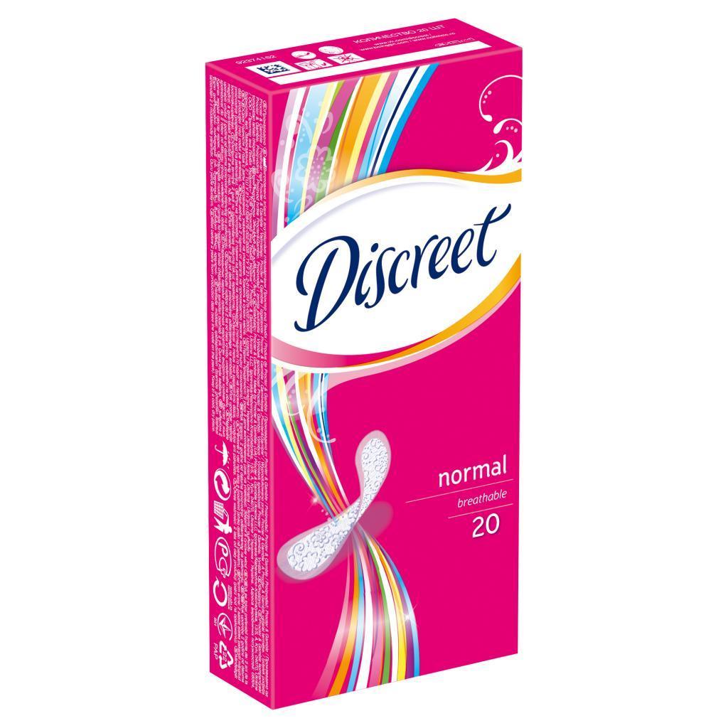Ежедневные прокладки Discreet Normal 20 шт (4015400165804)