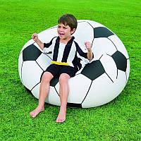 Надувное кресло Футбольный мяч Beanless Soccer Ball Chair 114х112х71 см SKL11-250331