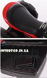 Дитячий електромобіль Мотоцикл з підсвічуванням, M 3927-3 червоний, фото 8