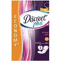 Ежедневные прокладки Discreet Normal Plus 50 шт (4015400515685)