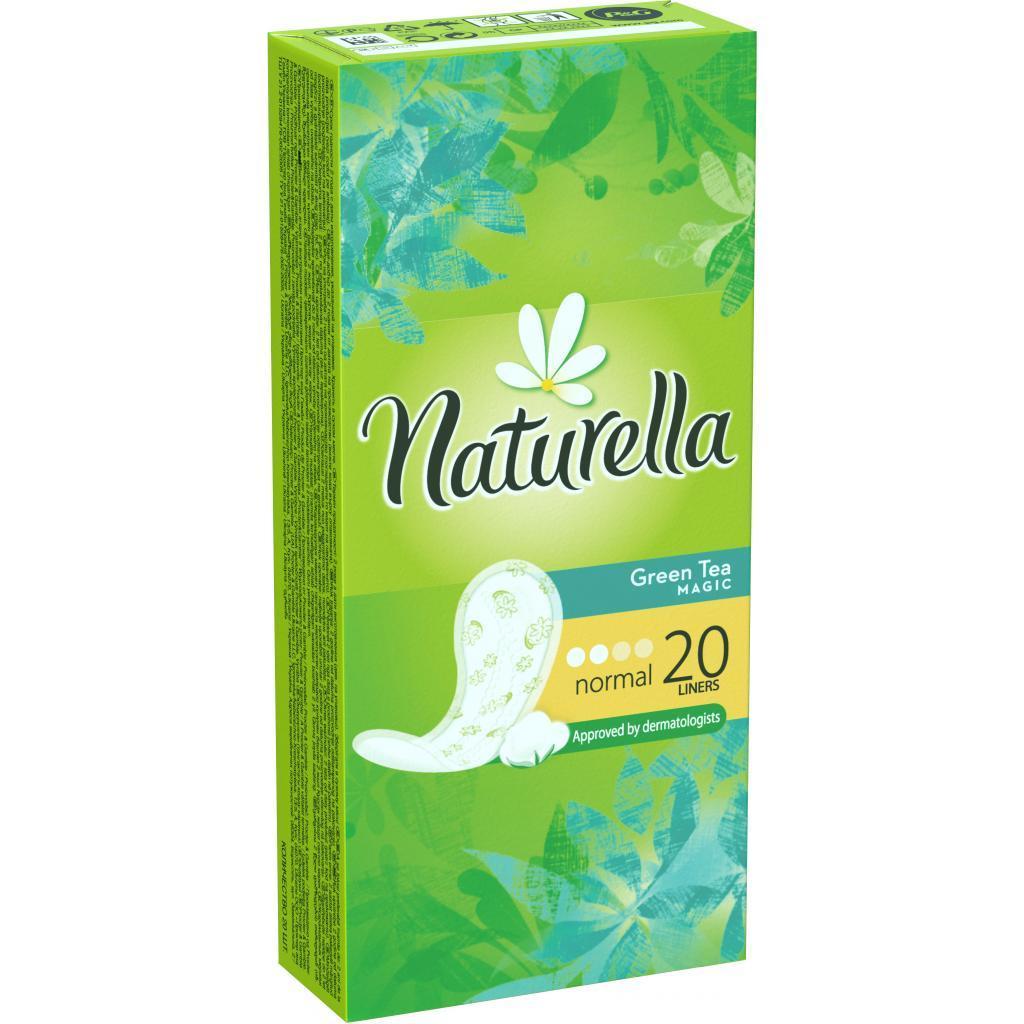 Ежедневные прокладки Naturella Green Tea Magic Normal 20 шт (4015400481898)