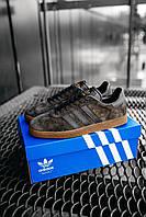Кроссовки мужские Adidas Gazelle Brown