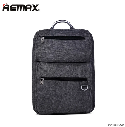Рюкзак городской REMAX Double-504 Grey, фото 2
