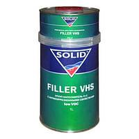 Грунт акриловый Solid FILLERVHS LOW VOC 4+1 серый, 1,25л