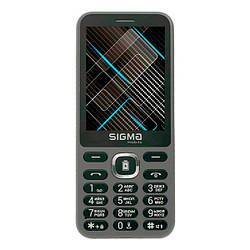 Мобільний телефон Sigma X-style 31 Power Grey