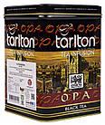Крупнолистовой чёрный чай Tarlton ОРА цейлонский 250 грамм в жестяной банке, фото 2