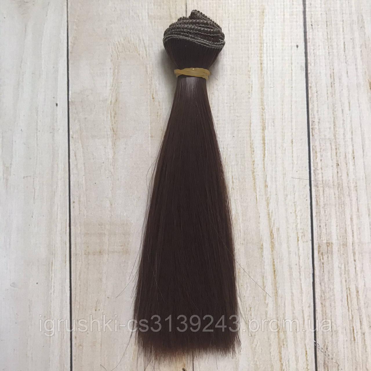 Волосся для ляльок (тресс) 15 * 100 см Колір 46