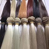 Волосся для ляльок (тресс) 15 * 100 см Колір 46, фото 3