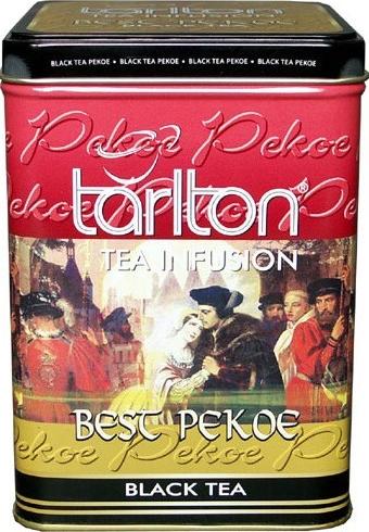 Черный цейлонский чай Tarlton Pekoe 250 грамм в жестяной банке