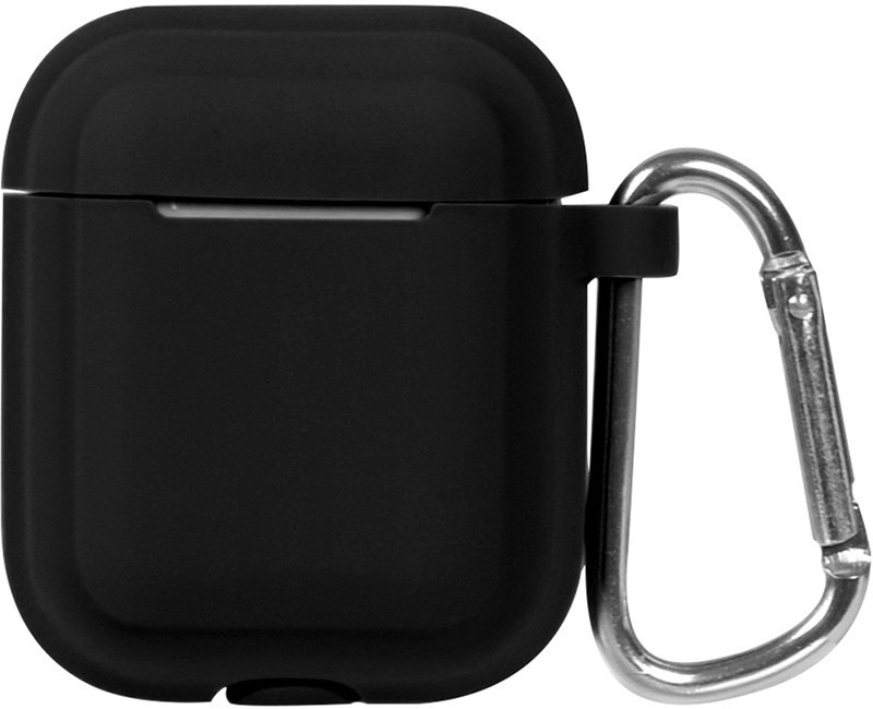 Кейс TOTO Plain Cover With Stripe Style Case AirPods Black (101759)
