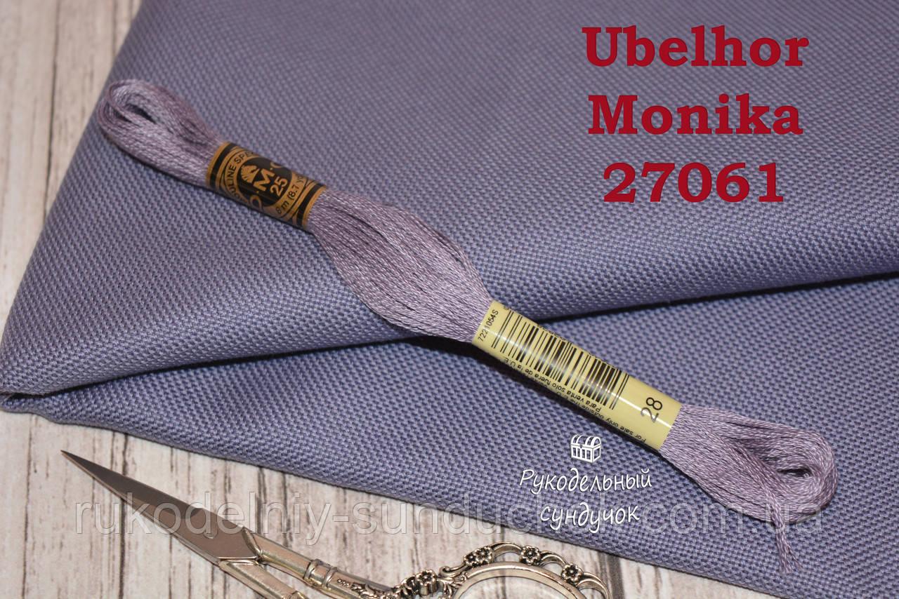 Равномерка Ubelhor Monika 27061 28 ct. Denim blue / синій джинсовий