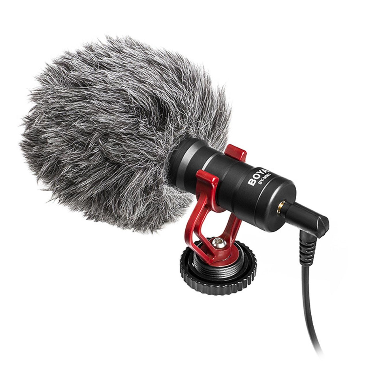 Кардиодный однонаправленный микрофон BOYA BY-MM1 (4059-11832a)