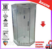 Гидромассажный бокс 90х90 см Veronis BN-090РG
