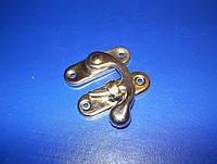 Крючок для шкатулки 40х45 золото