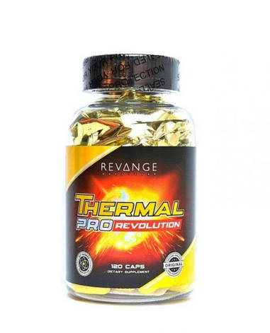Жиросжигатель Revange Nutrition Thermal Pro Revolution 120 caps, фото 2